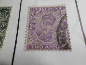Inde Anglaise, Timbre Classique 82 Oblitéré, Vf Used Stamp Art De La Broderie Traditionnelle Exquise