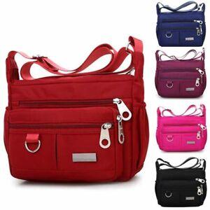 Women-039-s-Satchel-Shoulder-Bag-Tote-Messenger-Cross-Body-Waterproof-Canvas-Handbag