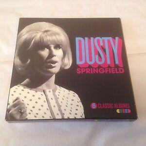 Dusty-Springfield-5-Classic-Albums-CD-X-5-2016-1960s-Pop-Soul