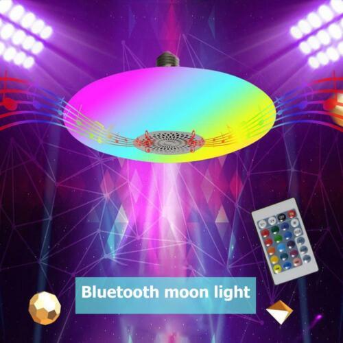 30W Bluetooth Lautsprecher LED Musik Deckenleuchte Deckenlampe RGB Fernbedienung