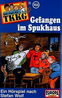 155/Gefangen im Spukhaus [Musikkassette] von Tkkg 155 | CD | Zustand gut