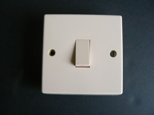 20 amp light switch Beige boat home camper caravan motorhome boat 1 gang
