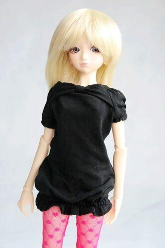 108#black Clothes//dress 1//3 SD AOD DOD DZ BJD Dollfie PF