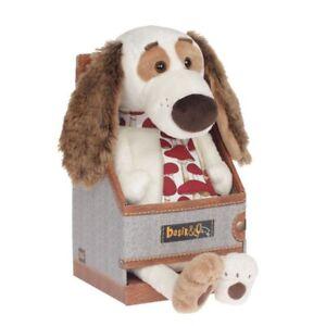 Épagneul de chien Budi Basa Bartholomew avec une cravate de fripon   30cm de hauteur