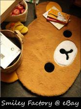 "New 35"" San-X Rilakkuma Relax Bear Plush Mat Rug Carpet for Living Room Bedroom"