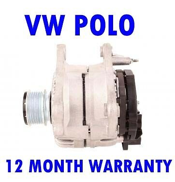 VW polo saloon variant 1998 1999-2015 alternator 12 month warranty