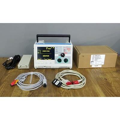 ZOLL M Series Biphasic 3 Lead ECG Pacing Analyze ALS NEW PADDLES