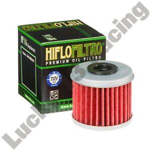 HF116-oil-filter-Honda-4RT-260-CRF-150-250-450-TRX-450-ER-R-Hiflo-Filtro