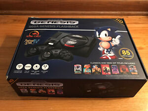 SEGA Genesis Flashback AtGames Console 85 Classic Games 2 ...