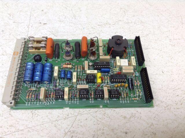 AMF Potter Brumfield B100634A R50-E2-Y1-24VDC 7528 Circuit Board Controls