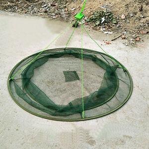 31 large prawn bait crab shrimp net drop landing fishing for Fish net company