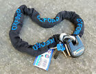 Oxford Monster Lock Motorcycle 1.2m Chain & Padlock OF801 Security Thatcham SALE