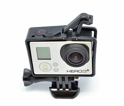 NEW Frame Mount Standard Protective Housing For GoPro Hero 3 3+with UV Protector