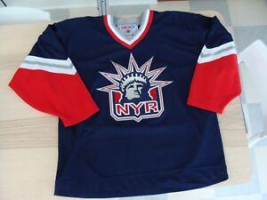 on sale 538b9 731e2 Details about CCM New York Rangers Liberty 3rd Alternate Jersey Men's size  XL