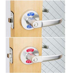 Quot Open Quot Quot Occupied Quot Indication Lever Handle Door Locks For