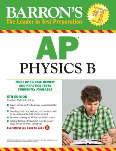 Barron's AP Physics B by Wolf, Jonathan