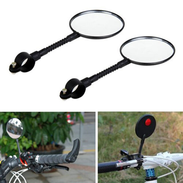 NEW Bicycle Bike Sports Handlebar Flexible Rearview Mirror LT
