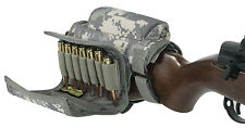 ADJUSTABLE RIFLE CHEEK REST WITH 7 ROUND AMMO CARRIER FOR .308 OR .300 WINMAG