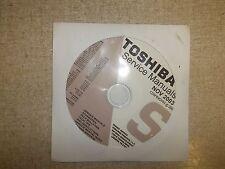 Toshiba Television Service Manual CD CDSMN0V03 *FREE SHIPPING*