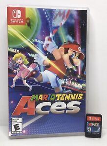 Nintendo Switch Mario Tennis Aces Complete in Case CIC