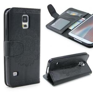 Samsung-galaxy-s5-Wallet-pliante-Housse-de-Protection-Stand-Flip-Case-Cover-etui-Coque