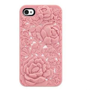 3D-Sculpture-Design-Rose-Flower-Soft-Case-Cover-for-Apple-iphone4-amp-4S-Pink