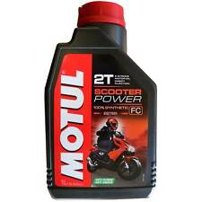 OLIO MOTUL SCOOTER POWER 2T SINTETICO 1 LITRO