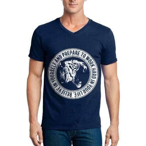 Tiger Hard Animals T-Shirt Nature Break The Rules Predator Wild Cat Panther B767