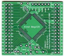 ATMEGA128 - 16AU  Bread Board/ PCB  / MEGA128 / ISP / Prototype PCB