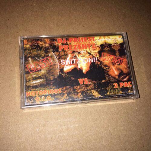 DJ Priiest Big Vs 2 Pac East West Coast Rare 90s Hip Hop Rap Cassette Mixtape