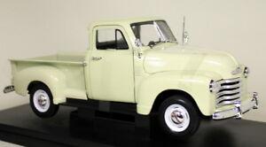 Nex 1/18 - 1953 Chevrolet 3100 Pick-up Truck Cream Car Model 4891761198367