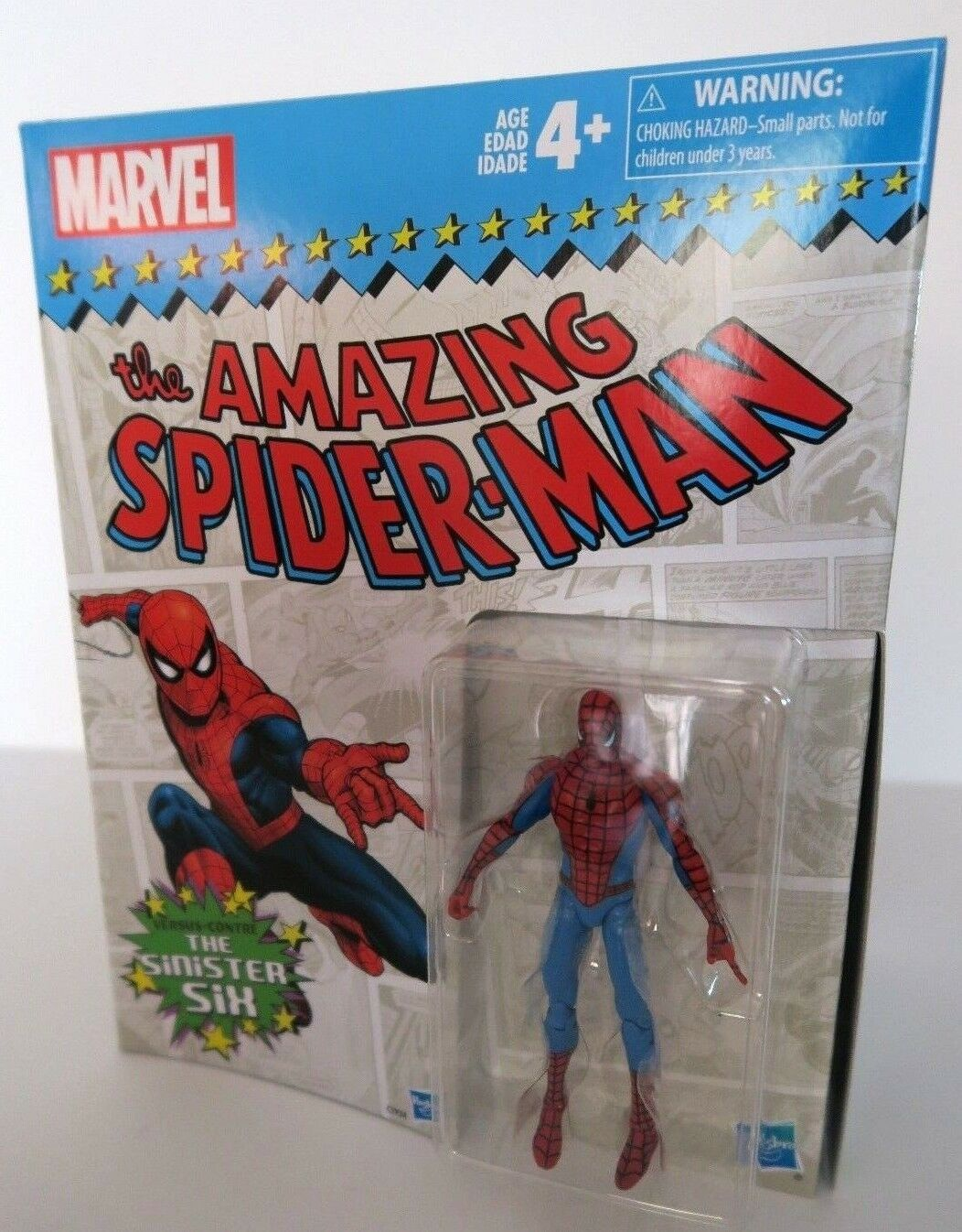 Marvel - legenden  spiderman - vs finstere sechs amazon exklusive box 3,75