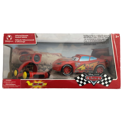 Disney Pixar Cars 2 Lightning Mcqueen Talking Remote Control Vehicle By Air Hogs For Sale Online Ebay