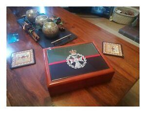Royal-Green-Jackets-premium-military-medals-and-memorabilia-box-Perfect-Gift