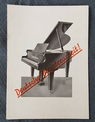 Reklameblatt Klavierbauanstalt Anton Pappenberger, Korneuburg (rek2)