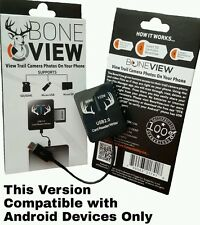 BoneView Trail & Game Camera Viewer for Android Phones & Tablets, SD Card Reader