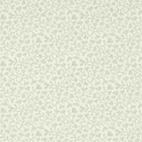 Sanderson Wallpaper, Chika Collection, Design: Batik Leaf, Colour: Silver