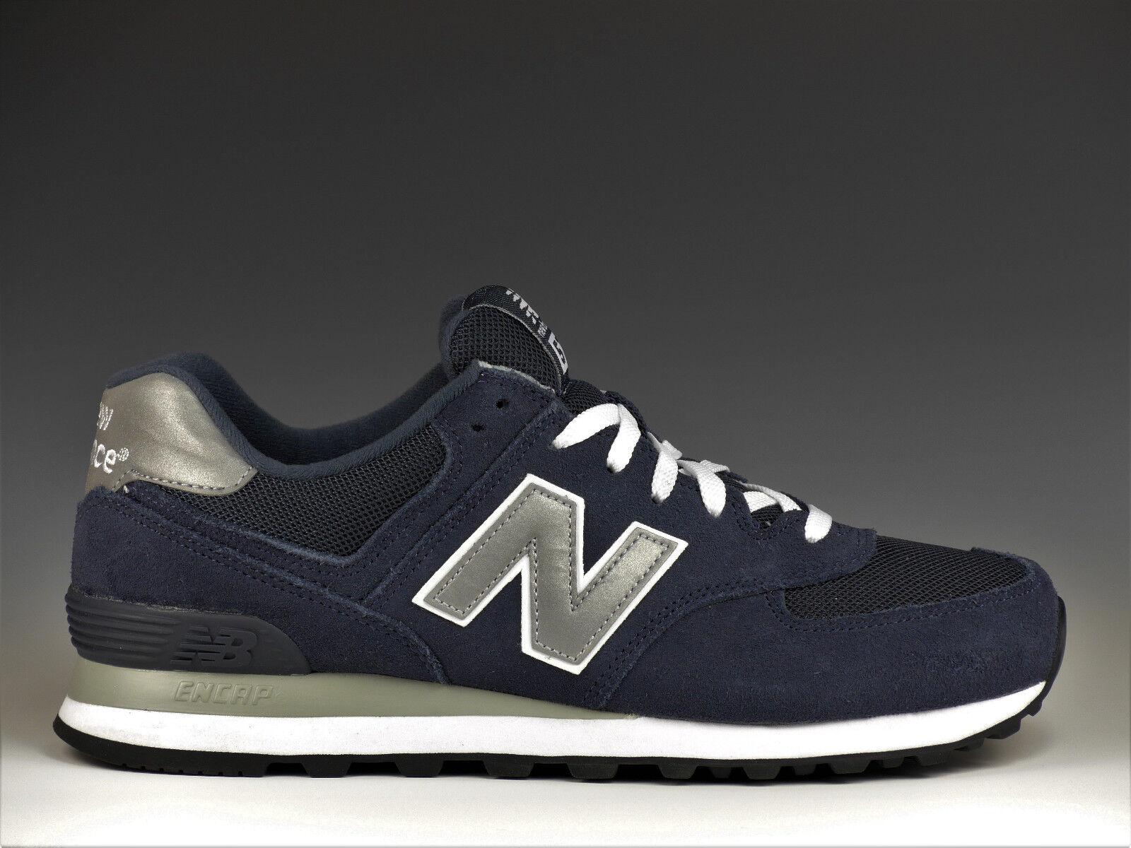 NUEVA Balance M 574 574 574 Hombre Azul Marino Zapatos zapatillas m574nn NUEVO e5853f