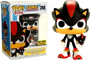 Sonic The Hedgehog Funko Pop Games Shadow With Chao Exclusive Vinyl Figure 288 889698252638 Ebay