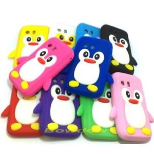 New-Samsung-Galaxy-Y-S5360-Cute-Penguin-Silicone-Soft-Phone-Case-Cover