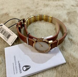 Nixon-A403-1749-Kenzi-Wrap-White-Dial-Brown-Leather-Ladies-Watch