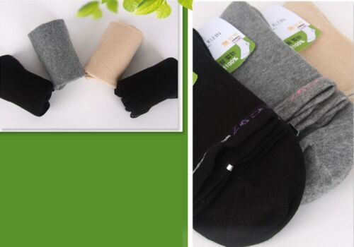 5 Prs Lot 97/% Cotton Relaxed Loose Top Socks Sweating Pregnant Obese Diabetic