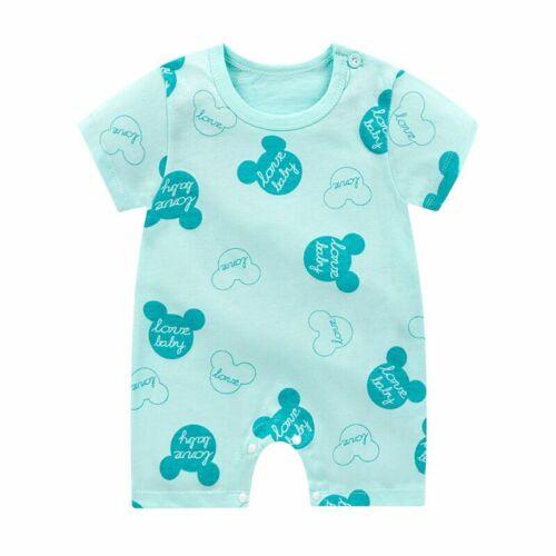 Newborn Infant Baby Boys Girls Romper Cotton Jumpsuit Bodysuit Clothes Outfits