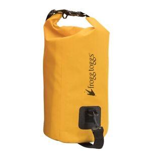 Frogg-Toggs-PVC-Tarpaulin-Waterproof-Dry-Bag-10-Liter-w-cooler-insert-Yellow