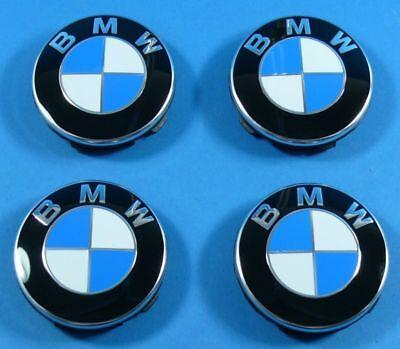 BMW Emblems 58mm E46 E60 E39 E36 Z4 Rim Emblem New New Orig