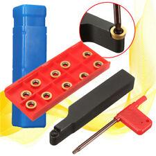 SRAPR1616H10 Face Milling Lathe Tool Holder + 10Pcs RPMT10T3MO Carbide Inserts