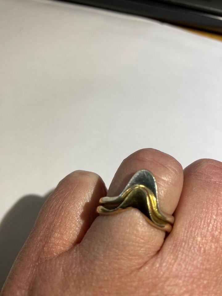 Fingerring, sølv, FRON 925