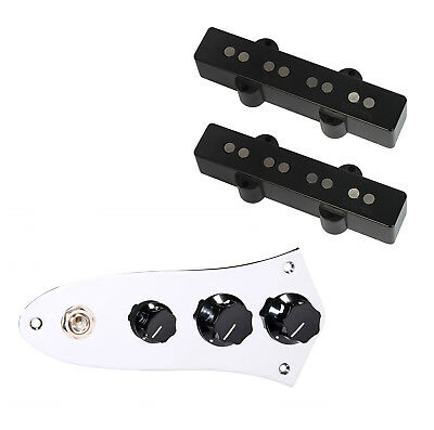 dimarzio dp149bk ultra jazz bass pickup set 920d jb c prewired control plate 601629467689 ebay. Black Bedroom Furniture Sets. Home Design Ideas