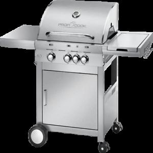 Parrilla parrilla grill parrilla Cochero con 4 quemador de acero inoxidable proficook PC-gg 1058