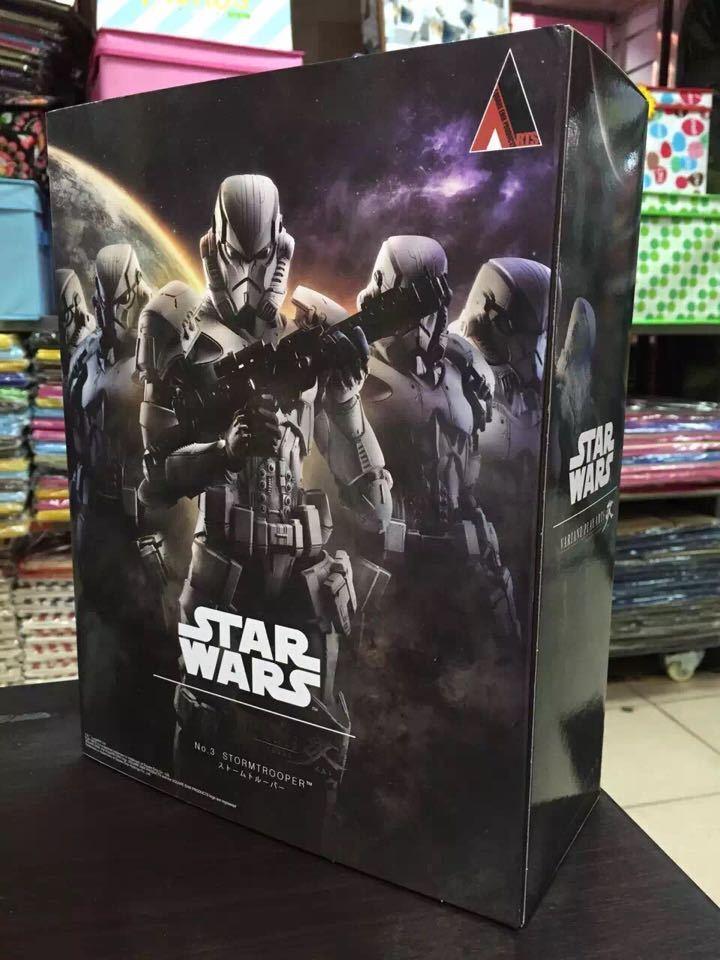 Die neue variante spielen kunst kai star wars nr.3 stormtrooper actionfigur statue.